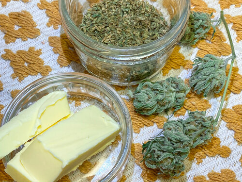 Manteiga de Cannabis: Como fazer e como usar